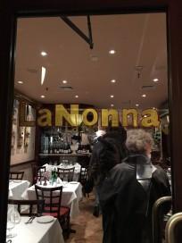 Friday Night's Italian fare.