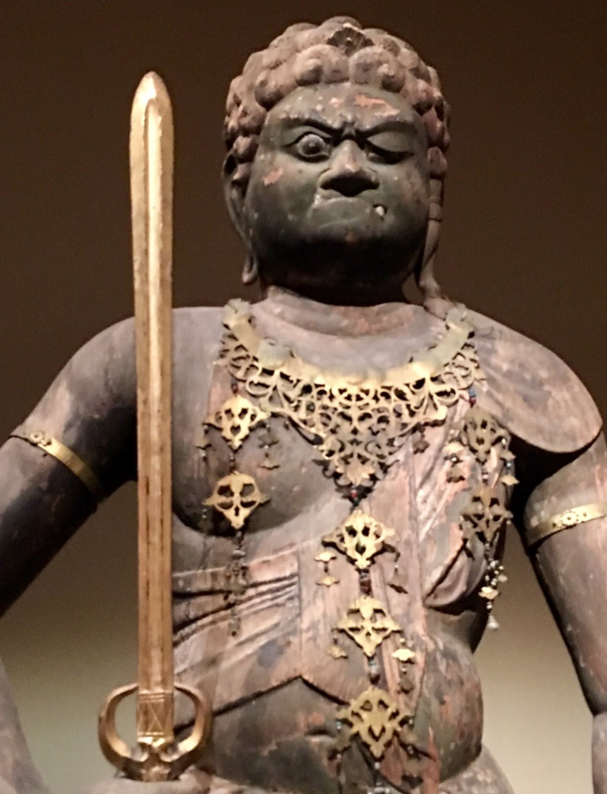Not a good day for this guy...The Met Japenese Exhibit