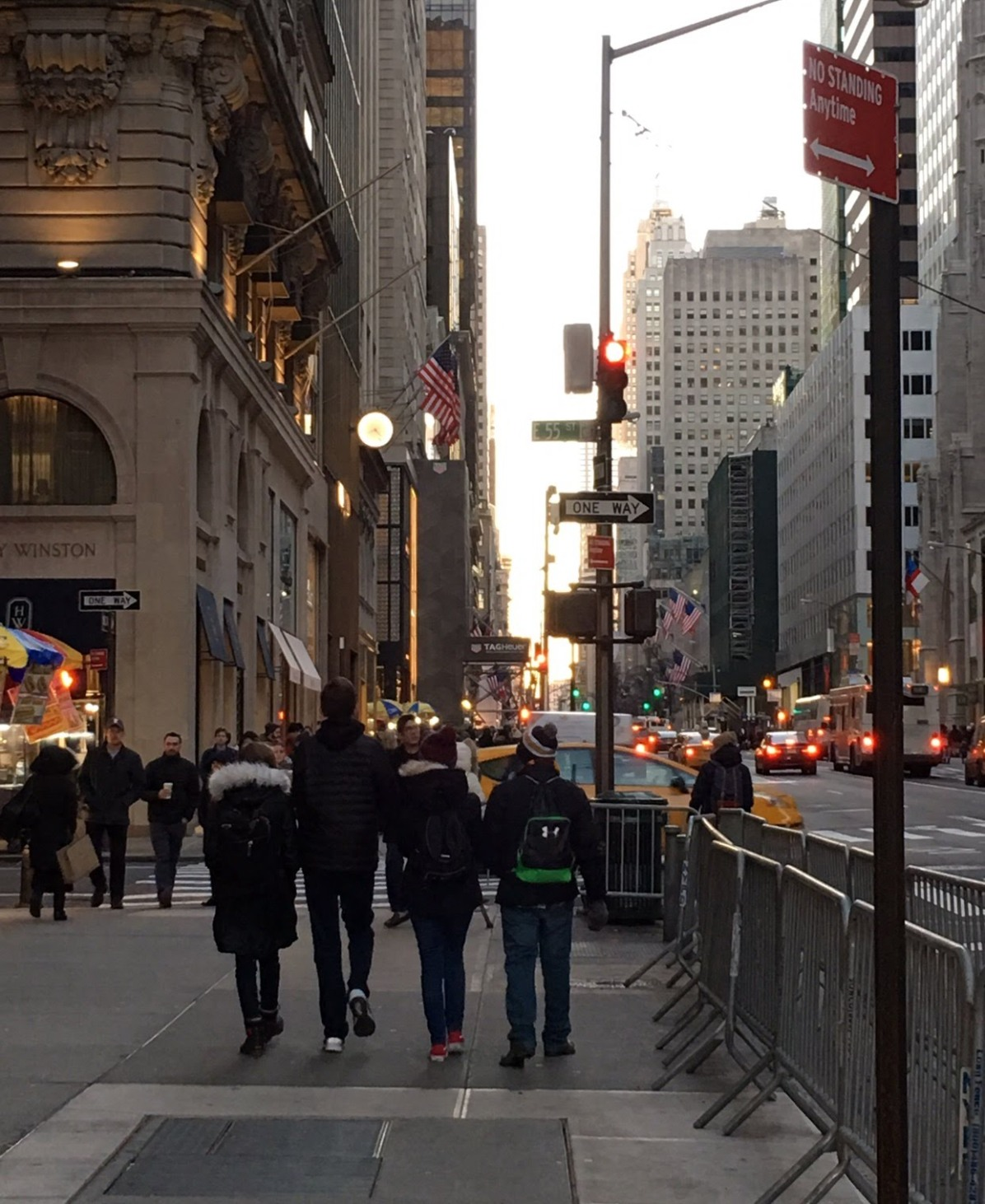 Coolest kids... walking 5th Avenue